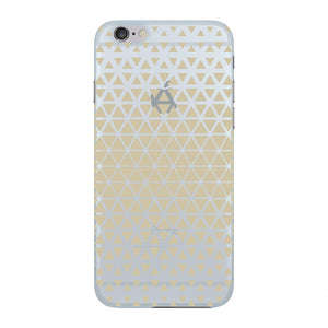 Gold Triangles & Mini Hexagons Phone Case iPhone 6 case