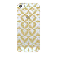 Golden Glitter Squares Phone Case iPhone 5 case