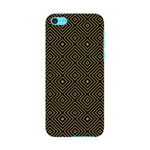 Golden Glitter Squares Phone Case iPhone 5C case