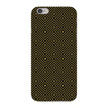 Golden Glitter Squares Phone Case iPhone 6 case