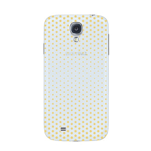 Halftone Gold Dots Phone Case Samsung Galaxy S4 case