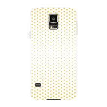 Halftone Gold Dots Phone Case Samsung Galaxy S5 case