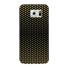 Halftone Gold Dots Phone Case Samsung Galaxy S6 Edge case