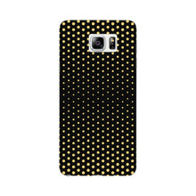 Halftone Gold Dots Phone Case Samsung Galaxy Note 5 case