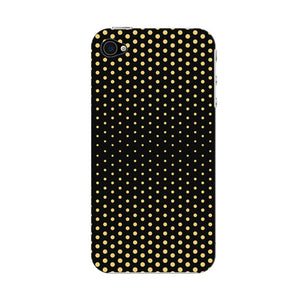 Halftone Gold Dots Phone Case iPhone 4S case