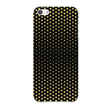 Halftone Gold Dots Phone Case iPhone 5 case