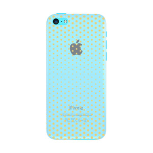 Halftone Gold Dots Phone Case iPhone 5C case