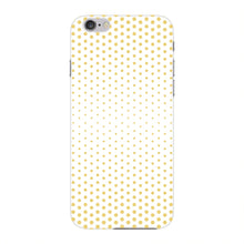 Halftone Gold Dots Phone Case iPhone 6 case