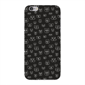 Hand Drawn Cat Faces Phone Case iPhone 6 case