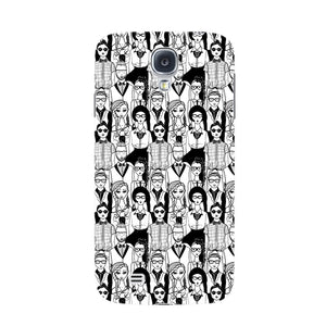 Hipsters Phone Case Samsung Galaxy S4 case