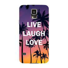 Live Laugh Love Phone Case Samsung Galaxy S5 case