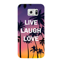 Live Laugh Love Phone Case Samsung Galaxy S6 Edge case