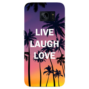 Live Laugh Love Phone Case Samsung Galaxy S7 Edge case