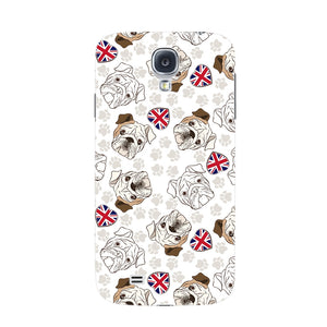 Loving English Bulldogs Phone Case Samsung Galaxy S4 case