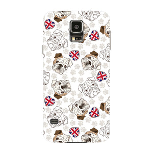 Loving English Bulldogs Phone Case Samsung Galaxy S5 case