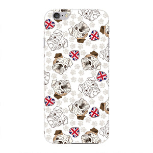 Loving English Bulldogs Phone Case iPhone 6 case