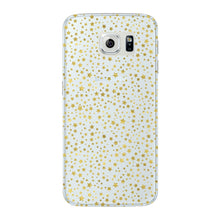 Mini Golden Stars Phone Case Samsung Galaxy S6 Edge case