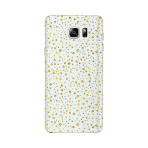 Mini Golden Stars Phone Case Samsung Galaxy Note 5 case