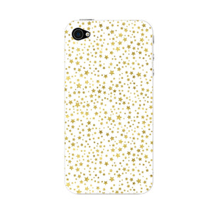 Mini Golden Stars Phone Case iPhone 4S case