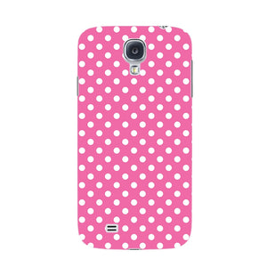 Pink Polka Dots Phone Case Samsung Galaxy S4 case