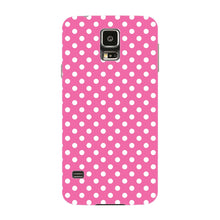 Pink Polka Dots Phone Case Samsung Galaxy S5 case