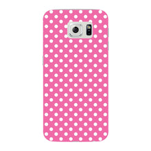 Pink Polka Dots Phone Case Samsung Galaxy S6 Edge case
