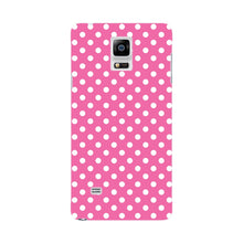 Pink Polka Dots Phone Case Samsung Galaxy Note 4 case