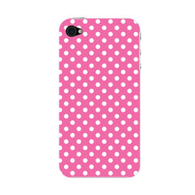 Pink Polka Dots Phone Case iPhone 4S case