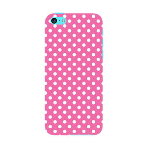 Pink Polka Dots Phone Case iPhone 5C case