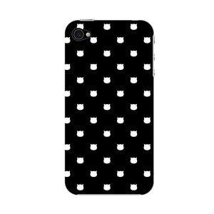 Polka Cats Phone Case iPhone 4S case