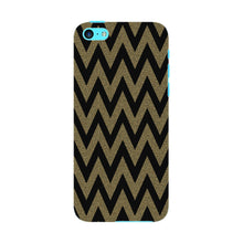 Printed Gold Chevron Glitter Phone Case iPhone 5C case