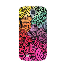 Rainbow Swirls Samsung Galaxy S4 case
