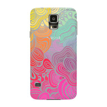 Rainbow Swirls Samsung Galaxy S5 case