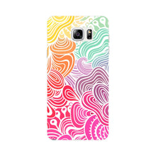 Rainbow Swirls Samsung Galaxy Note 5 case