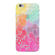 Rainbow Swirls iPhone 6 case