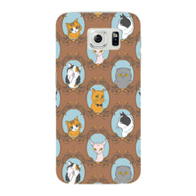 Retro Cats Phone Case Samsung Galaxy S6 Edge case
