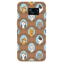 Retro Cats Phone Case Samsung Galaxy S7 Edge case
