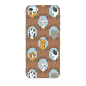 Retro Cats Phone Case iPhone 5 case
