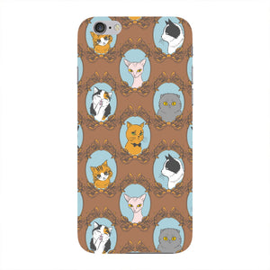 Retro Cats Phone Case iPhone 6 case