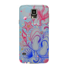 Sketched Vacation Phone Case Samsung Galaxy S5 case