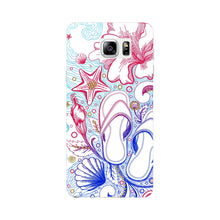 Sketched Vacation Phone Case Samsung Galaxy Note 4 case