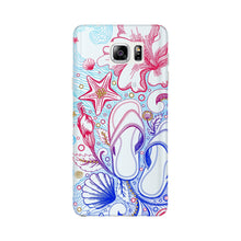 Sketched Vacation Phone Case Samsung Galaxy Note 5 case