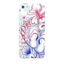 Sketched Vacation Phone Case iPhone 5 case
