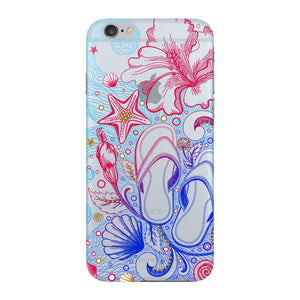 Sketched Vacation Phone Case iPhone 6 case
