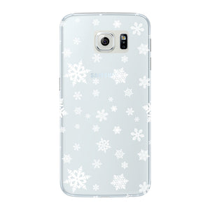 Snow Flakes Phone Case Samsung Galaxy S6 Edge case