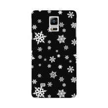 Snow Flakes Phone Case Samsung Galaxy Note 4 case