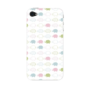 Stacked Elephants Phone Case iPhone 4S case