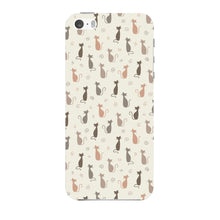 Stylish Cats Pattern Phone Case iPhone 5 case