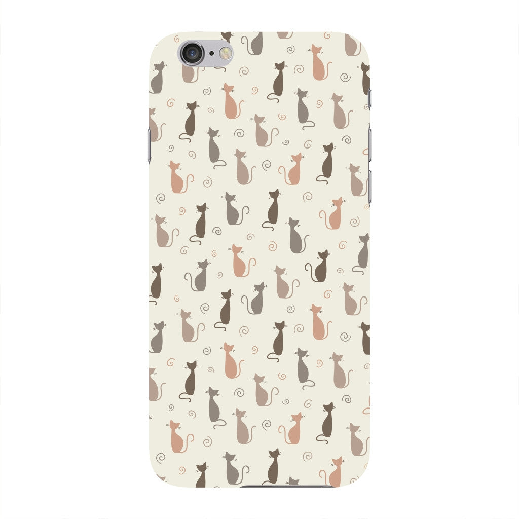 Stylish Cats Pattern Phone Case iPhone 6 case