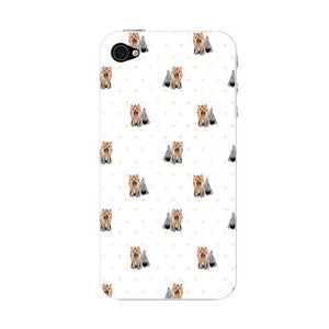The Yorkshire Terrier Phone Case iPhone 4S case